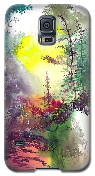 Back To Jungle Galaxy S5 Case by Anil Nene