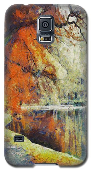 Galaxy S5 Case featuring the painting Back To Our Dreams by Joe Misrasi