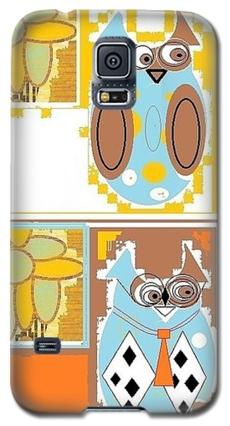 Back To School Owl Galaxy S5 Case