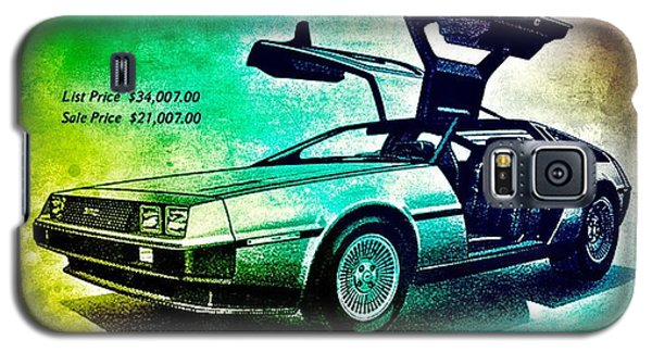Back To The Delorean Galaxy S5 Case