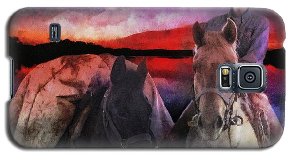 Backcountry Packer Galaxy S5 Case by Rhonda Strickland