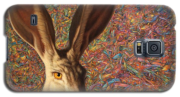 Rabbit Galaxy S5 Case - Background Noise by James W Johnson