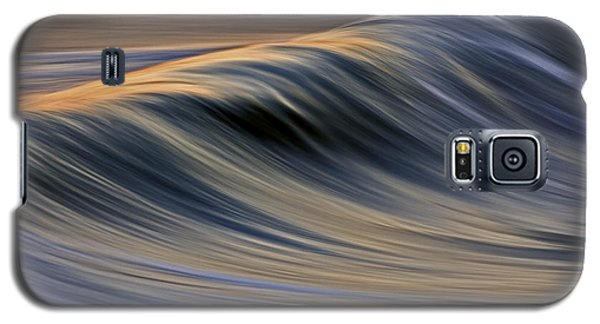 Galaxy S5 Case featuring the photograph Backlit Gold C6j0150 by David Orias