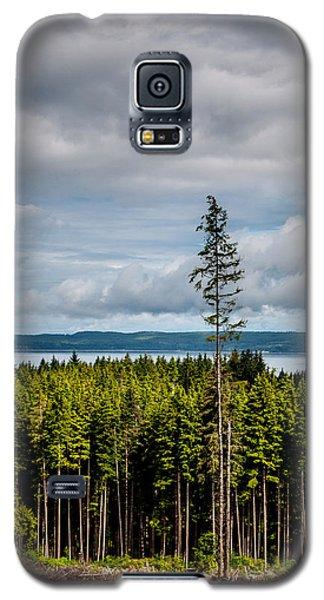 Logging Road Ocean View  Galaxy S5 Case