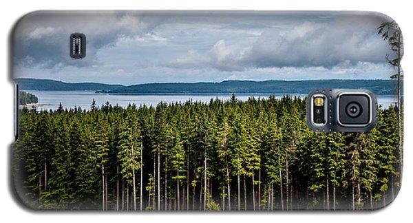 Logging Road Landscape Galaxy S5 Case