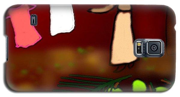 Backyard Of Ancestral Home Galaxy S5 Case by Latha Gokuldas Panicker
