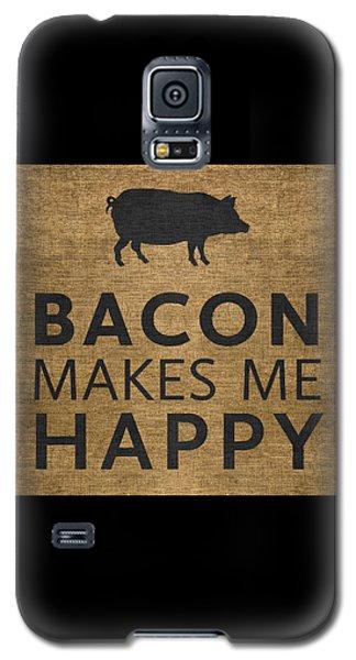 Bacon Makes Me Happy Galaxy S5 Case