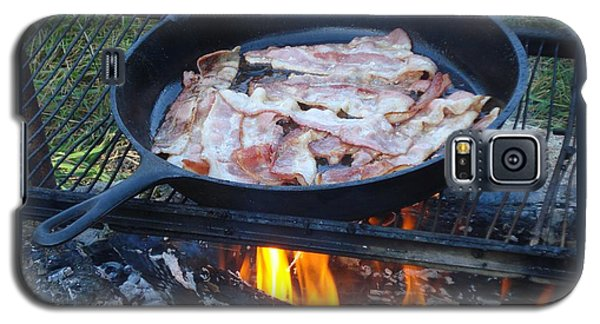 Bacon On The Campfire Galaxy S5 Case