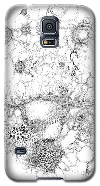 Bacteriophage Ballet Galaxy S5 Case by Regina Valluzzi