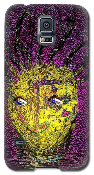 Galaxy S5 Case featuring the photograph Bad Hair Day by Irma BACKELANT GALLERIES