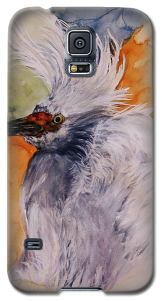 Galaxy S5 Case featuring the painting Bad Hair Day by Lil Taylor