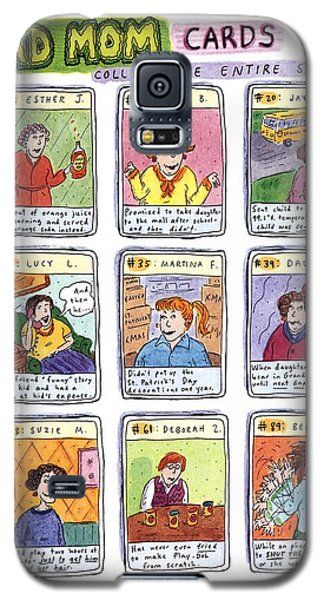 Card Galaxy S5 Case - Bad Mom Cards Collect The Whole Set by Roz Chast