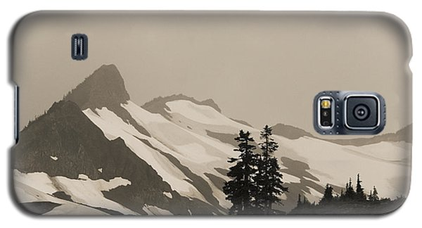 Galaxy S5 Case featuring the photograph Fog In Mountains by Yulia Kazansky