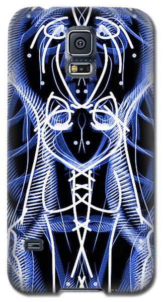 Galaxy S5 Case featuring the digital art Badge by Devin  Cogger