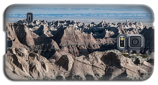 Galaxy S5 Case featuring the photograph Badlands Lan386 by G L Sarti