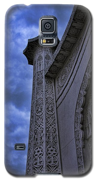 Galaxy S5 Case featuring the photograph Bahai Temple Detail At Dusk II by John Hansen