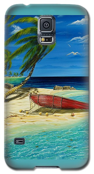 Bahama Beach Galaxy S5 Case
