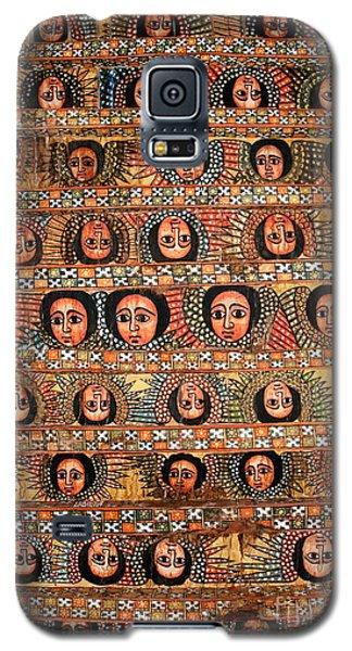 Bahar Bahir Dar Ethiopia Bright Colour Painted Church Ceiling Galaxy S5 Case