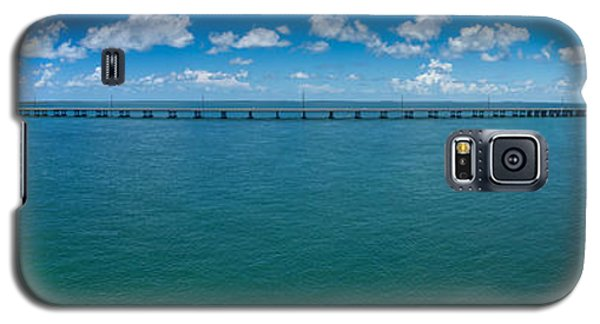 Bahia Honda Bridge Panorama Galaxy S5 Case