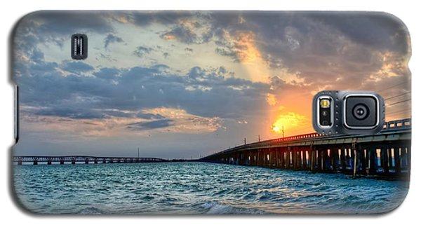 Bahia Honda Sunset Galaxy S5 Case