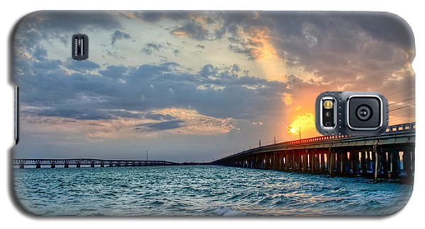 Bahia Honda Sunset Galaxy S5 Case