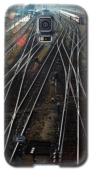 Galaxy S5 Case featuring the photograph Bahnhof Cottbus by Marc Philippe Joly