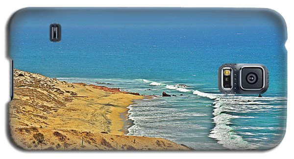 Galaxy S5 Case featuring the photograph Baja California - Desert Meets Ocean by Christine Till
