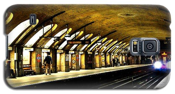 Baker Street London Underground Galaxy S5 Case by Mark Rogan