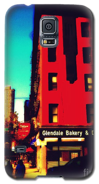 Galaxy S5 Case featuring the photograph The Bakery - New York City Street Scene by Miriam Danar