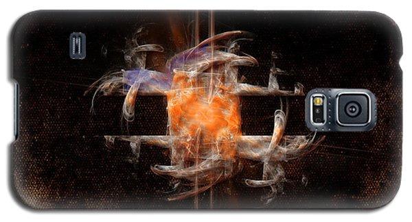 Galaxy S5 Case featuring the painting Balance by Alexa Szlavics