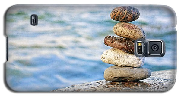 Balanced Pebbles Galaxy S5 Case by Charline Xia