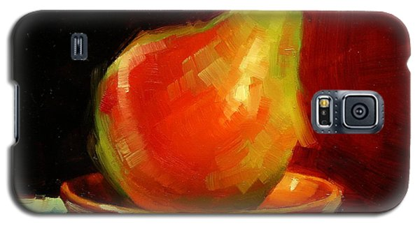 Galaxy S5 Case featuring the painting Balancing Act by Margaret Stockdale