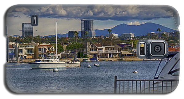 Galaxy S5 Case featuring the photograph Balboa Island by Joseph Hollingsworth