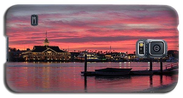 Balboa Pavilion At Dusk Galaxy S5 Case