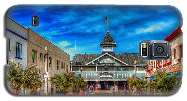 Galaxy S5 Case featuring the photograph Balboa Pavilion by Jim Carrell