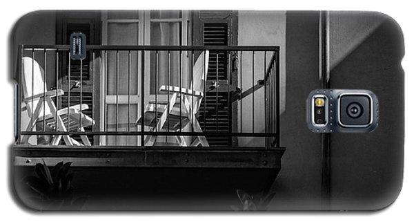 Balcony Bathed In Sunlight Galaxy S5 Case