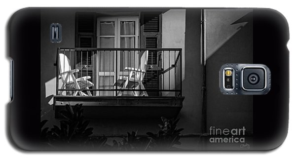 Balcony Bathed In Sunlight Galaxy S5 Case