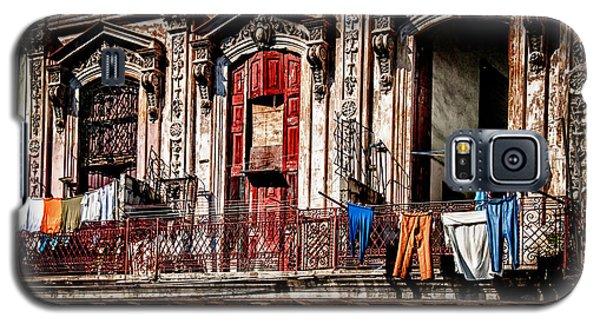 Balcony In Old Havana  Galaxy S5 Case