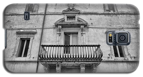 Balcony In Assisi Galaxy S5 Case
