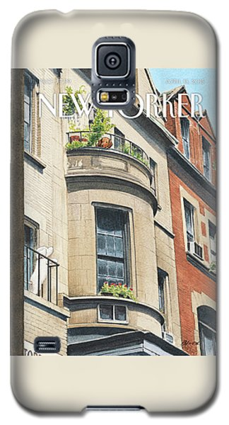 Balcony Scene Galaxy S5 Case