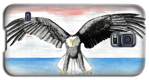 Bald Eagle Galaxy S5 Case by David Jackson