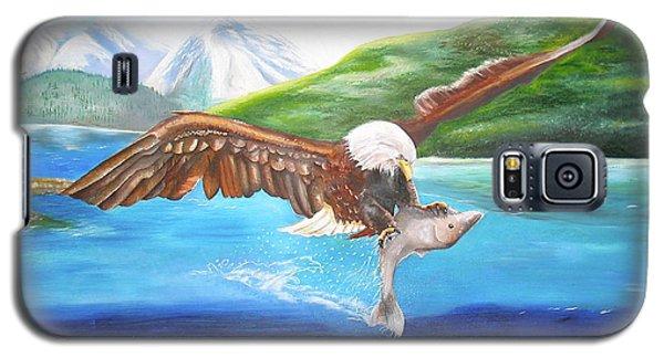 Bald Eagle Having Dinner Galaxy S5 Case