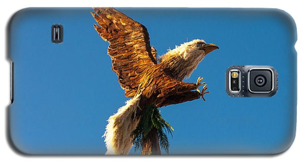 Bald Eagle Horizontal Galaxy S5 Case