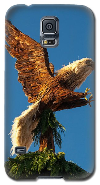 Bald Eagle  Vertical Galaxy S5 Case