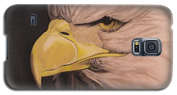 Bald Eagle Galaxy S5 Case by Wil Golden