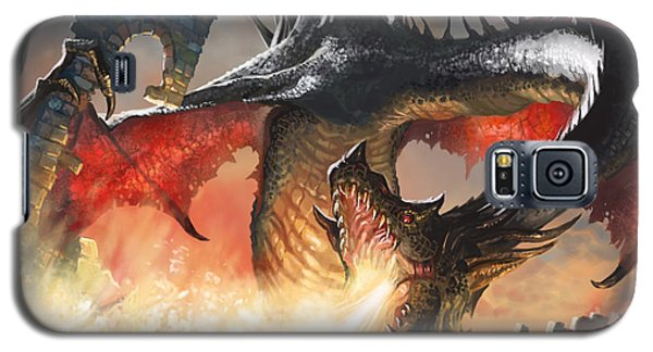 Balerion The Black Galaxy S5 Case by Ryan Barger