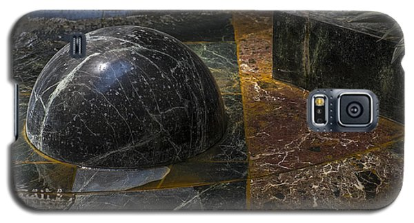 Galaxy S5 Case featuring the photograph Ball And Plant by Glenn DiPaola