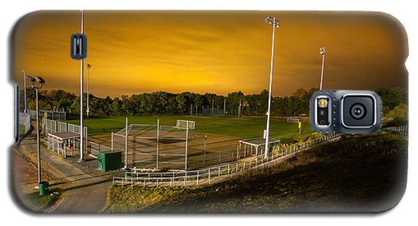 Ball Field At Night Galaxy S5 Case