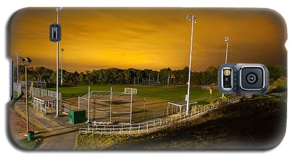 Ball Field At Night Galaxy S5 Case