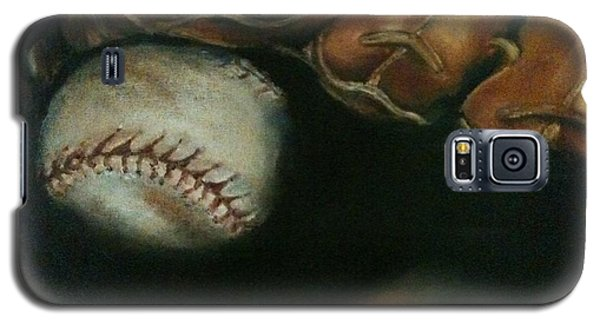 Ball In Glove Galaxy S5 Case by Lindsay Frost